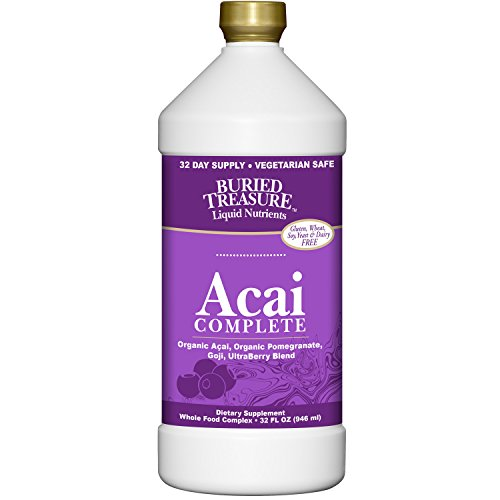 Buried Treasure Acai Complete, 32 Fluid Ounce Complete Buried Treasure