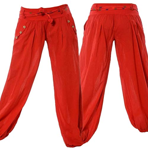 HappyStory Women's Medieval Renaissance Private Pants Trousers (4X-Large, ()