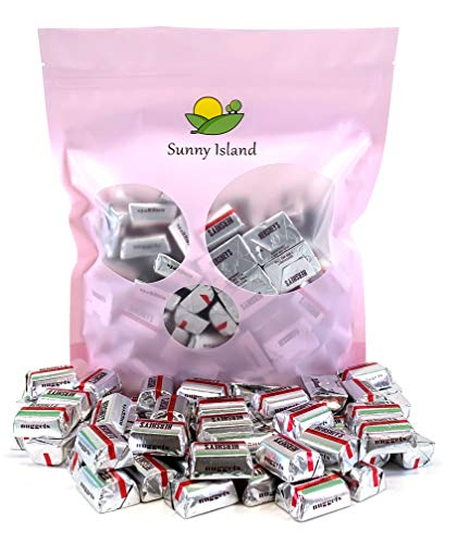Sunny Island Bulk - Hershey's Special Dark Nuggets, Mildly Sweet Chocolate Candy, Silver Foil 2 Pounds Bag