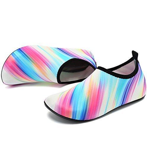 VIFUUR on Women Socks Men for Water Slip Shoes White Colorful Yoga Sports Aqua Barefoot Kids Dry Quick ffqBxvrO