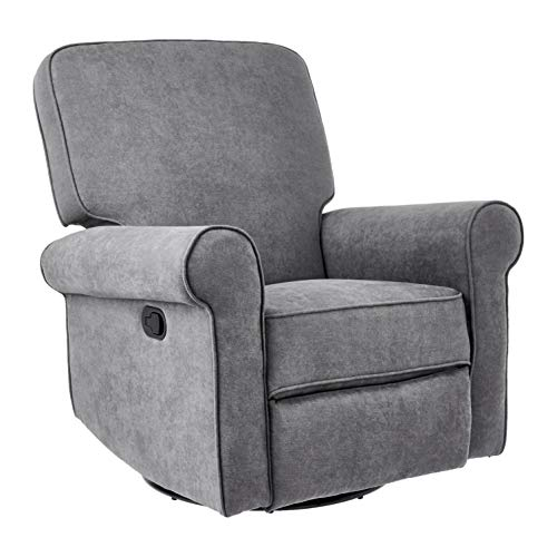 JC Home Swivel&Glider recliner, one size, Grey