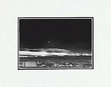 Amazon Com Ansel Adams Moonrise Hernandez New Mexico Sm Matted