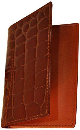 budd-leather-croco-bidente-gusseted-business-card-case-cognac
