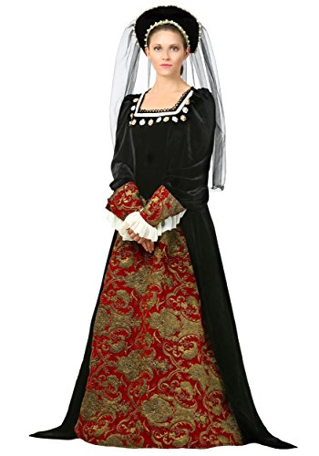 Anne Boleyn Dress (Women's Anne Boleyn Costume Large)