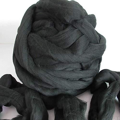INKBLOO 1000g/Ball 8CM 100% Acrylic fibers Yarn DIY Knitting Woollen Yarn Christmas Hat Blanket Pet nest - Fiber Nest Ring