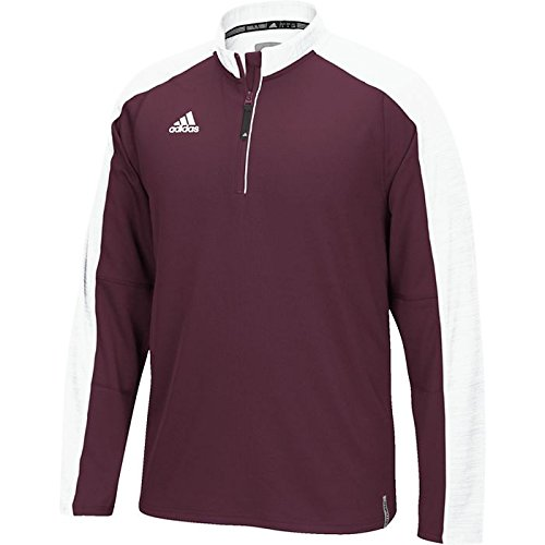 - adidas Men's Climalite Modern Varsity 1/4 Zip Jacket