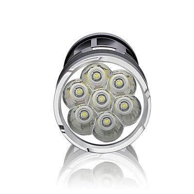 Grh T6Sept lumières extérieur Camping Chasse au quotidien de transport léger d'exploration Shot LED Lampe de poche