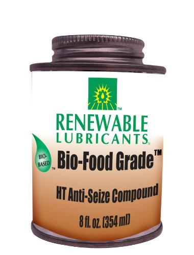Renewable Lubricants Bio-Food Grade HT NLGI 1 Anti-Seize Compound, 8 oz (Renewable Lubricants Bio Food)