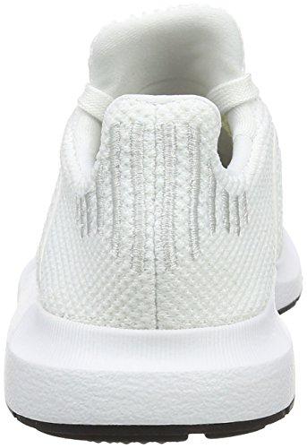adidas Unisex-Kinder Swift Run C Fitnessschuhe Elfenbein (Ftwr White/crystal White S16/core Black)