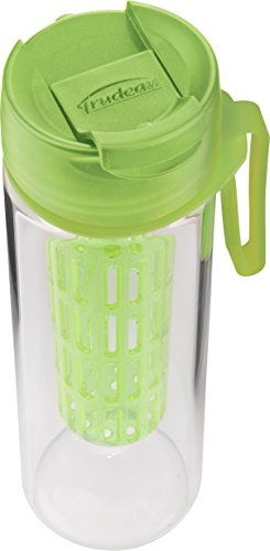 - Trudeau Maison Rejuvenate Water Bottle, 17 oz, Green