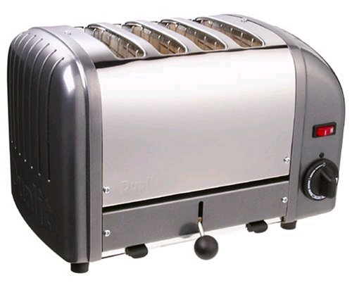 Dualit 4 Slice Toaster Metallic Charcoal