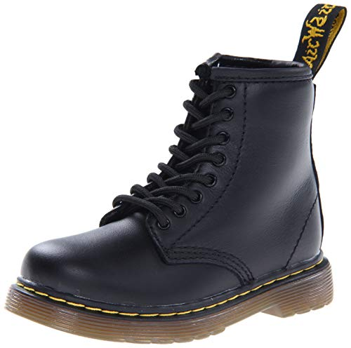 Dr. Martens Brooklee Boot (Toddler),Black Softy,9 UK (10 M US Toddler)