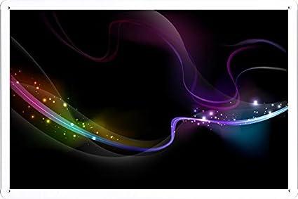Amazon.com: Abstracto Sign – Humo Ola de arco iris Shine ...