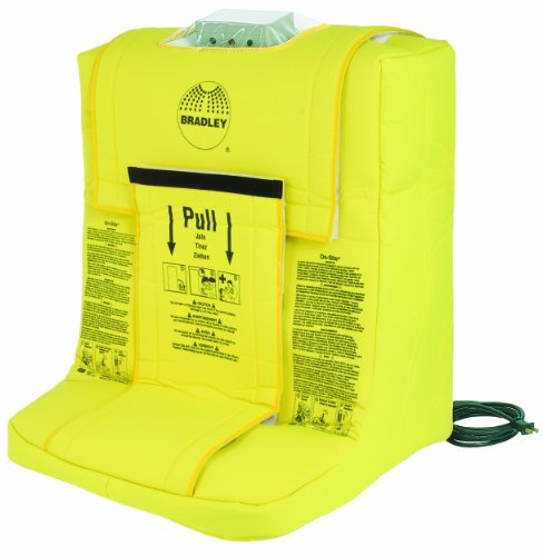 Bradley S19-921H Frost-Proof On-Site Safety Heated Portable Gravity-Fed Eyewash - Bradley Eye Wash