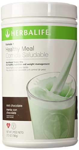 Formula Mix 1 Shake - Herbalife Formula 1 Nutritional Shake Mix, Mint Chocolate, 1.72 lb