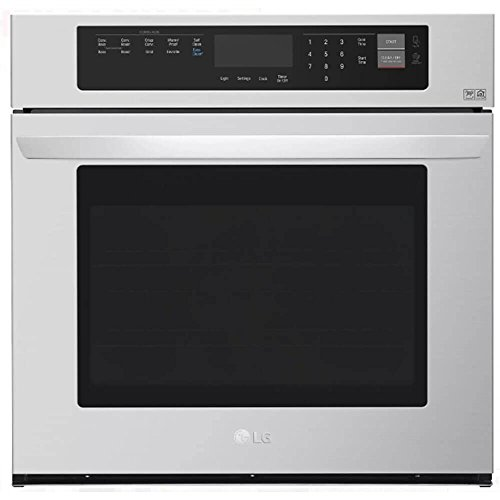 LG LWS3063ST - Oven - built-in - niche - width: 28.5 in - depth: 23.5 in - height: 29 in - with self-cleaning - stainless steel