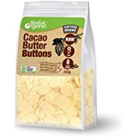 Absolute Organic Cacao Butter Buttons, 250 g