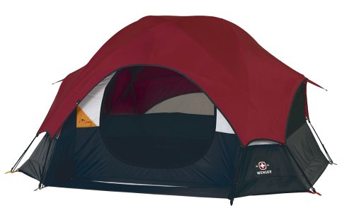 Amazon.com  Wenger Geneva I Sport 9-by 9-Foot Four-Person Dome Tent  Sports u0026 Outdoors  sc 1 st  Amazon.com & Amazon.com : Wenger Geneva I Sport 9-by 9-Foot Four-Person Dome ...