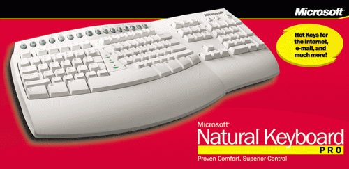 Microsoft Natural Keyboard Pro by Microsoft