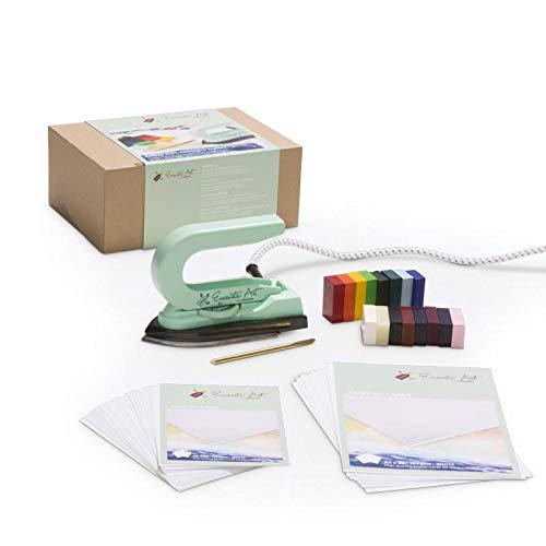 Encaustic Art Starter Set Painting Iron Wax Blocks Cards Scribing Tool