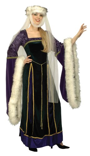 Morris costumes women's royal queen medium 8-10