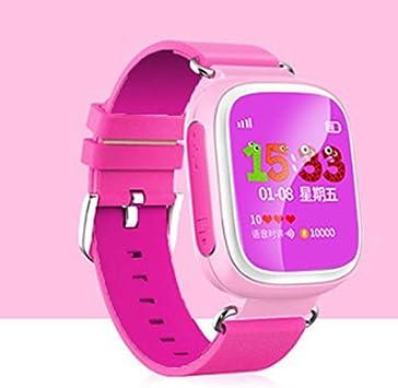 Cewaal Reloj GPS Tracker Localización GPS Q80 Reloj Samrt Posicionamiento de la red Material de alta calidad Diseño de moda protección para los ojos