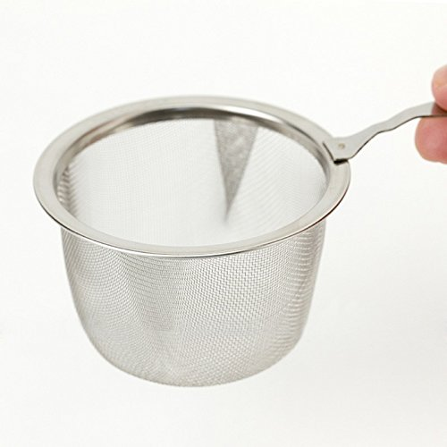Stainless Steel Mesh Flour Sifter Mechanical Baking Icing Sugar Shaker Gum Paste Maker Sieve Tool Cup (Mesh Icing Grate)
