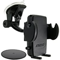Arkon Windshield and Dash Car Phone Holder Mount for iPhone X 8 7 6S 6 Plus 8 7 6S 6 Galaxy Note Retail Black