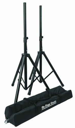 On Stage SSP7750 Compact Speaker Stand Pak
