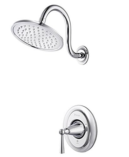Pfister LG897GLC G89-7GLC Saxton 1-Handle Shower Only Trim in Polished Chrome, 2.0gpm ()