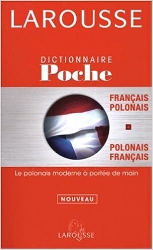 Amazon Fr Larousse De Poche Francais Polonais Beata