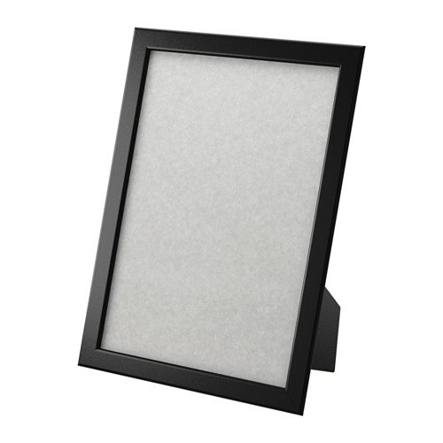 Ikea Photo Frame Certificate Picture 8.5 x 11' Black