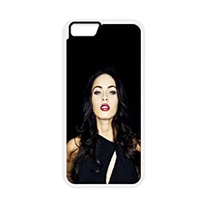 Celebrities Sexy Megan Fox iPhone 6 Plus 5.5 Inch Cell Phone Case White phone component AU_466574