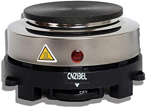 SODIAL - Calentador eléctrico de 500 W, Placa de Cocina ...