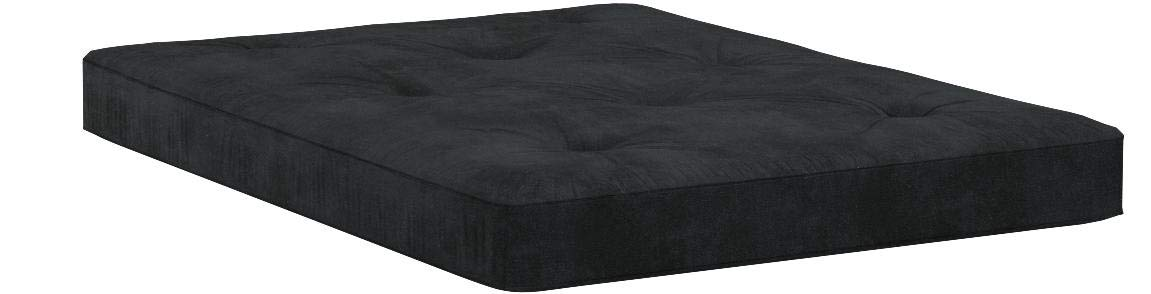 Home Life 8-Inch Independently-Pocket Coil Premium Futon Mattress Full Size - Black by LIFE Home