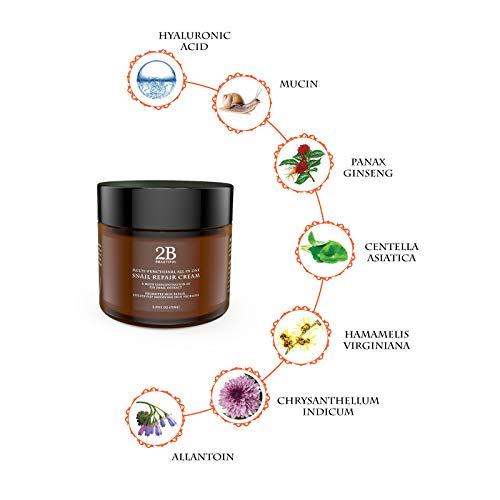 41VSEQBJpfL - REVOLUTIONARY Anti Aging Intensive Moisturizer Cream with 92% Natural Korean Snail Mucin - 2.53 oz (75 grams)