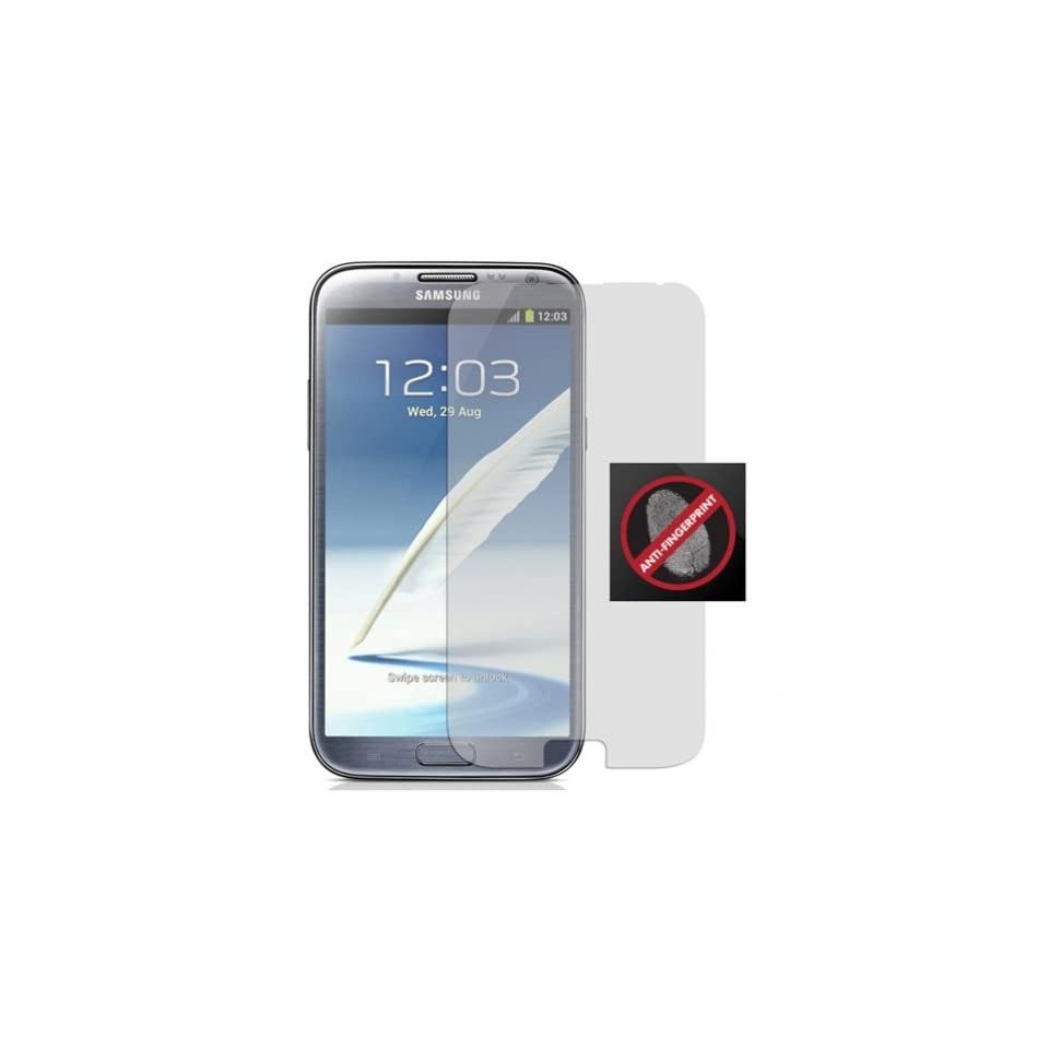 Fonus Anti Fingerprint / Anti Glare Screen Protector LCD Cover Film for T Mobile Samsung GALAXY Note II 2 SGH T889 Cell Phones & Accessories