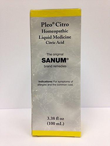 Pleo Citro Drops 100 Ml, Sanum
