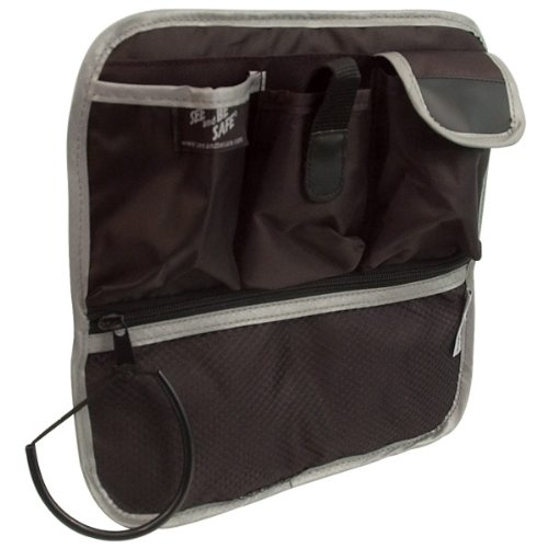 Reflective Mobility Tote for Walkers-Wheelchairs by MaxiAids