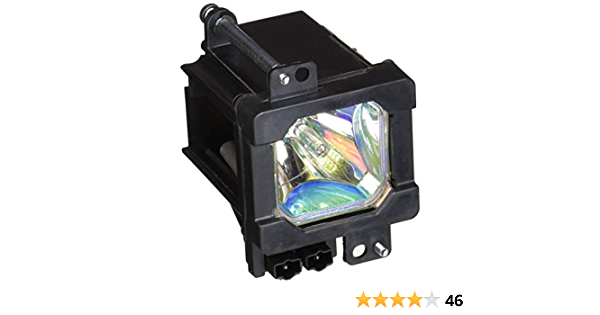 Lutema Economy for JVC HD-52G887 TV Lamp with Housing