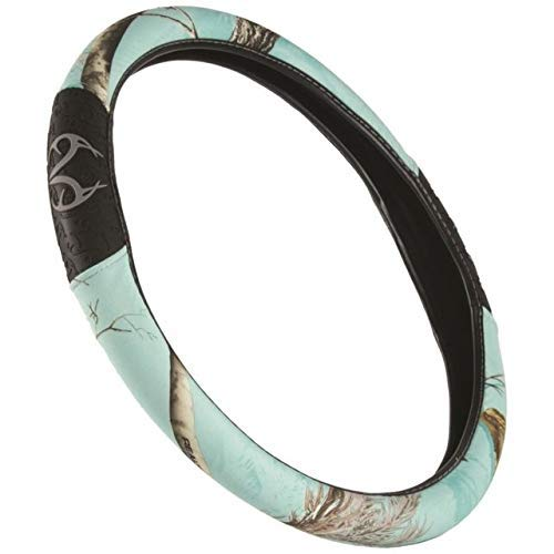 Realtree Camo Steering Wheel Cover | Ap Cool Mint | Truck Hunting & Shooting Equipment, Ap Cool Mint, Single