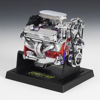 - Liberty Classics Chevy Street Rod Engine Replica, 1/6th Scale Die Cast