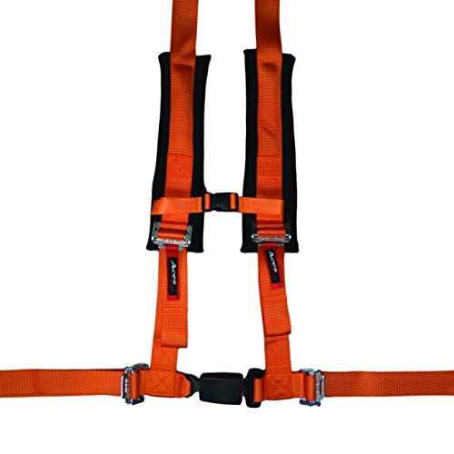 Price comparison product image 4 Point Harness with 2 Inch Padding (Ez Buckle Technology) (Orange)