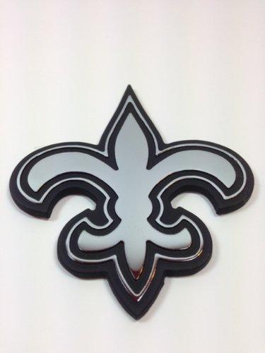 Amazon Com New Orleans Saints Metal Auto Emblem Automotive