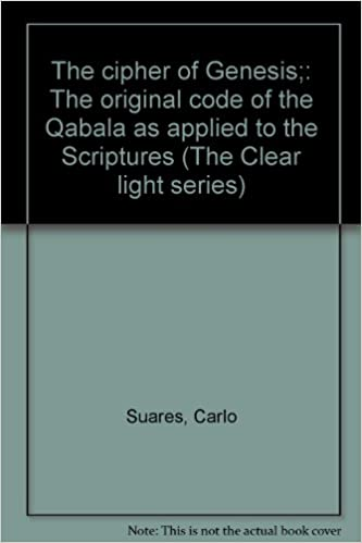 The cipher of Genesis; the original code of the Qabala as applied to the Scriptures