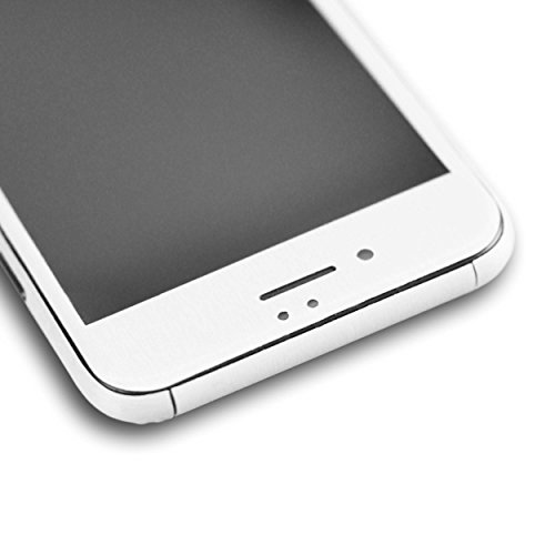AppSkins Folien-Set iPhone 7 Full Cover - Metal white