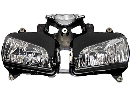 Sportbike Headlights SHL-1332-5 Black Motorcycle Headlight