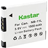 Kastar Battery for Canon NB-11L Canon A2400 IS A3400 IS A4050 IS, SX400 IS SX410 IS SX420 IS, ELPH 170 IS ELPH 350 HS ELPH 360 HS, IXUS 125 HS 150 IXUS 155 IXUS IXUS 240 HS IXUS 265 HS IXUS 285 HS