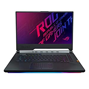ASUS ROG Strix Scar III G531GW 15.6″ FHD 240Hz Gaming Laptop RTX 2070 8GB Graphics (Core i7-9750H 9th Gen/16GB RAM/1TB PCIe SSD/Windows 10/Scar Gunmetal/2.57 Kg), G531GW-AZ014T