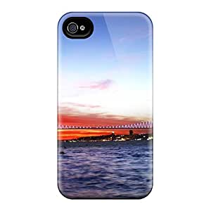 Iphone Cover Case - QLQNAiR4228EKOsh (compatible With Iphone 4/4s)